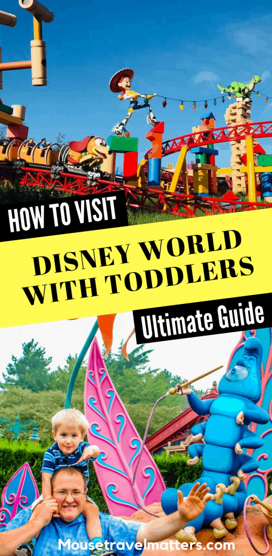 Learn how to plan the perfect Walt Disney World vacation for your preschool kids & little ones. This is How to Visit Disney World With Toddlers