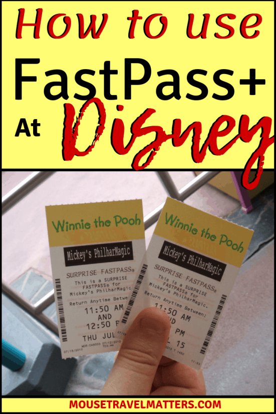 How to Use FastPass at Walt Disney World