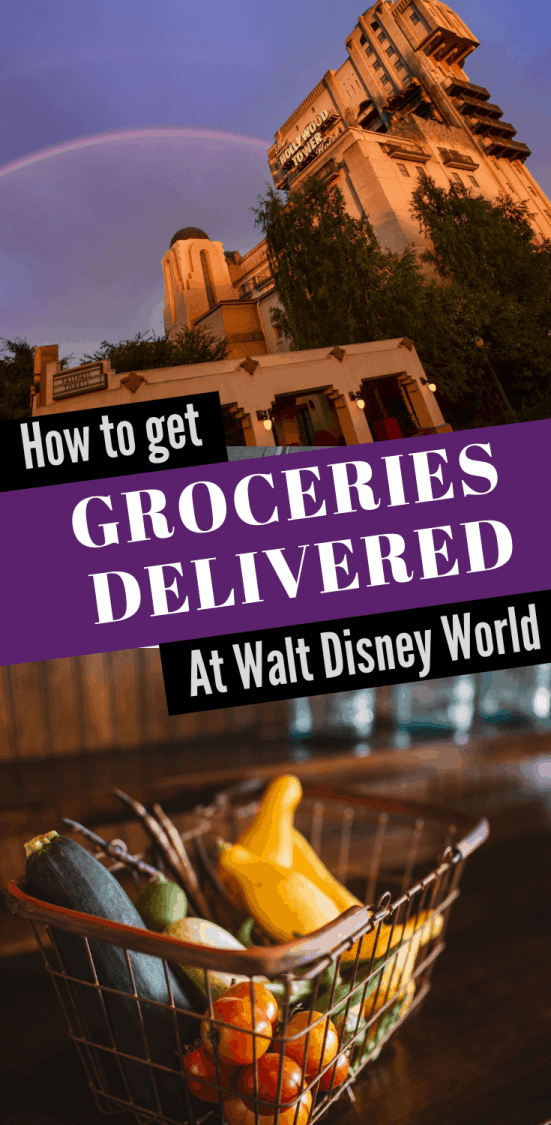 How to get Groceries Delivered to your Disney Resort #disneyfood #disneybudget #disneyworld