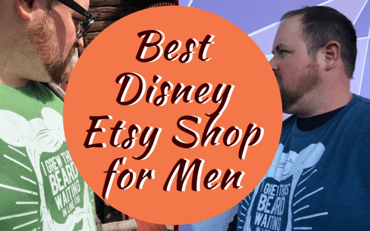 Best Disney Etsy Shop for Men - getting great quality Disney shirts for the men in our lives