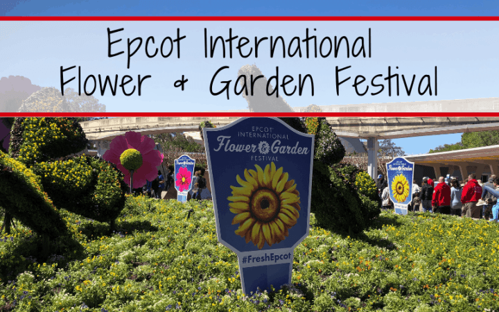 The 2019 Epcot International Flower & Garden Festival runs from March 06 - June 03, 2019, at Walt Disney World. This guide covers our tips & tricks for experiencing everything Epcot's Flower and Garden Festival has to offer. #wdw #epcotfestival #epcotflowerandgarden #2019epcotflowerandgardenfestival