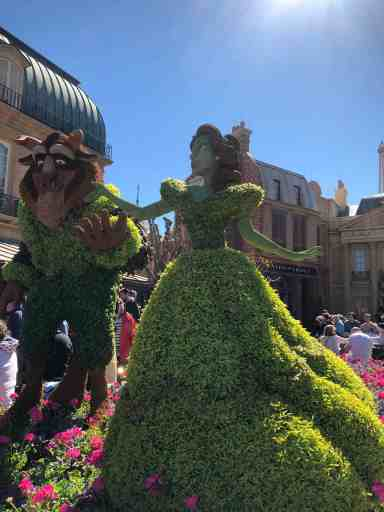 Epcot Flower and Garden Festival Topiaries