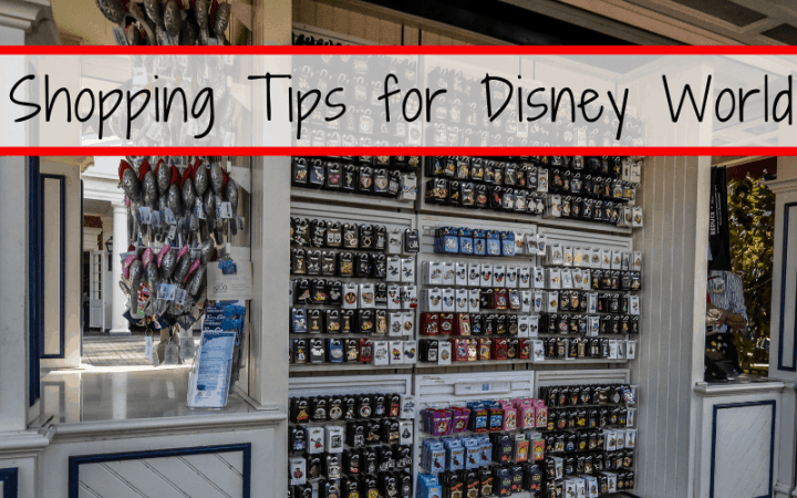Shopping Tips for Disney World, including the best places to shop at Walt Disney World, when to shop and how to make the most of your shopping experience.