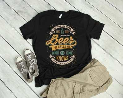 Men's Disney Drinking Shirt