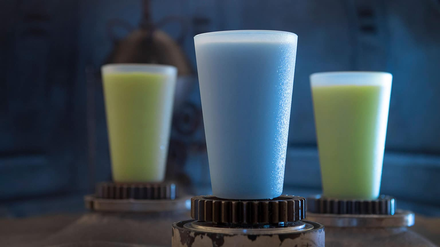 Blue AND Green Milk ©Disney Parks