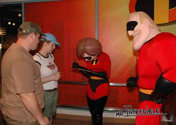 Which characters sign autographs at Disney?