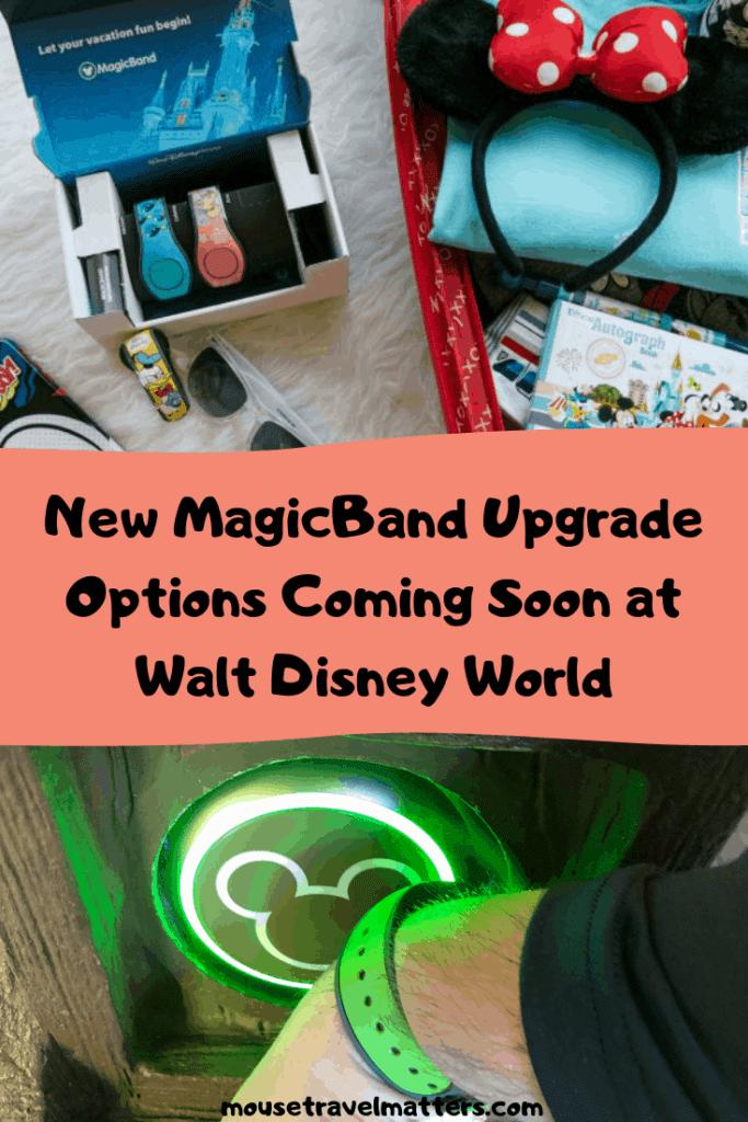 New MagicBand Upgrade Options Coming Soon at Walt Disney World Resort