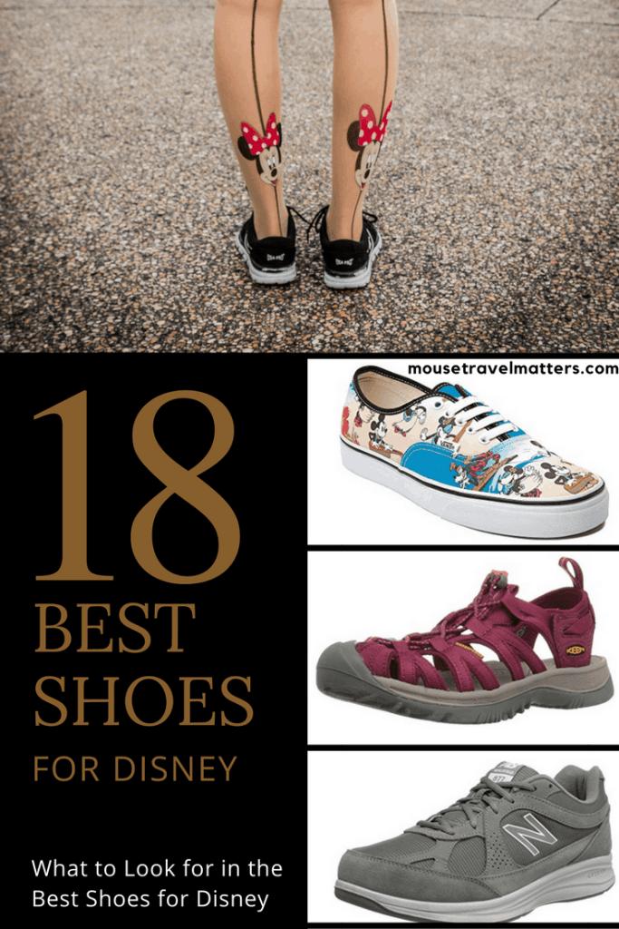 Best Shoes for Disney World & Theme Parks 2019 Men, Women & Kids