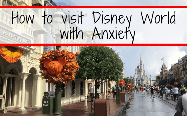 Have anxiety? Don't worry, Disney World is still for you! Check out my personal experience on traveling to Disney World with anxiety, including tips on where to find empty spaces and what to do when the anxiety just becomes too much. #anxiety #Disney #DisneyWorld #traveltips