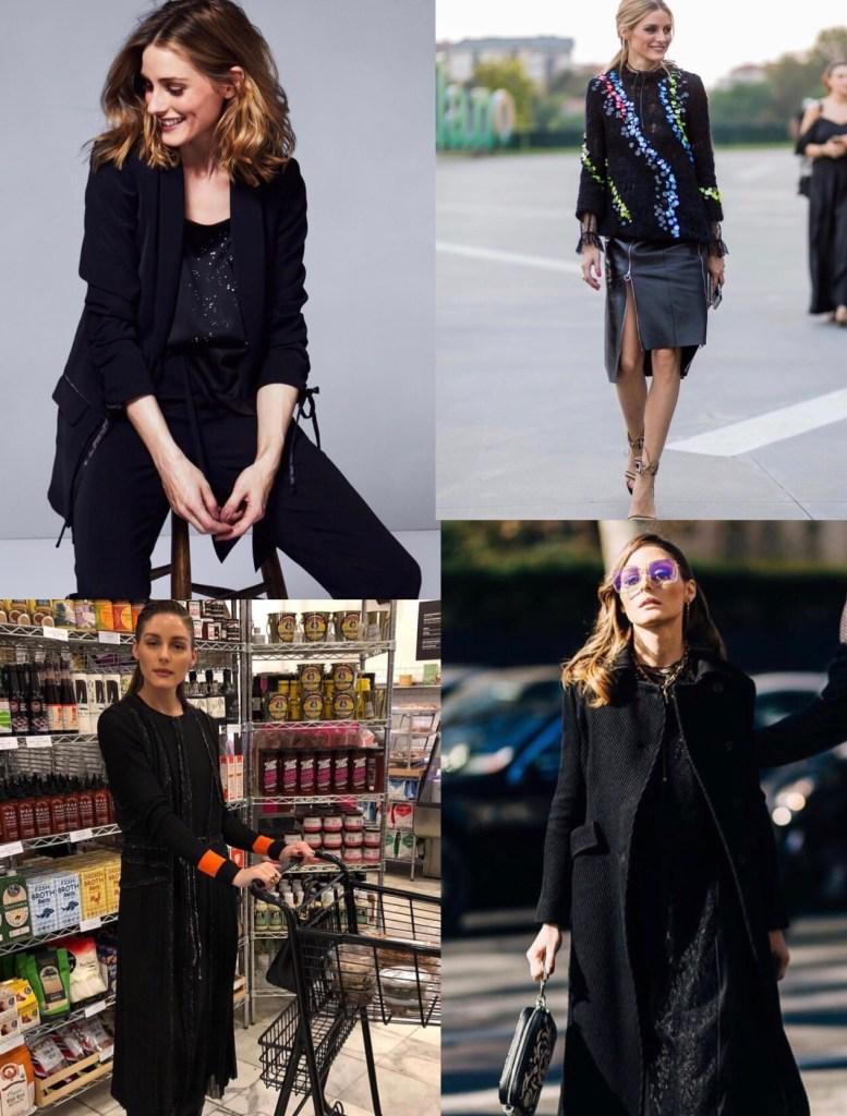 outfits tonalidades negras