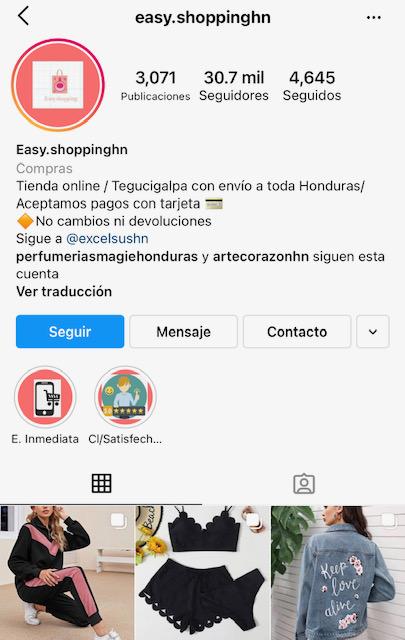 Tiendas hondureñas venden SheIn