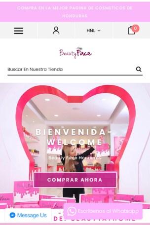 tiendas maquillaje Honduras