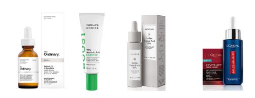 Activos que dan buenos resultados en la piel | HN