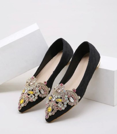 Zapatos planos tendencia bonitos