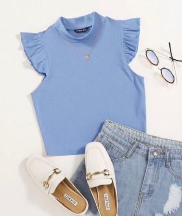 tops cortos  tops para mujer de moda  crop top mujer
