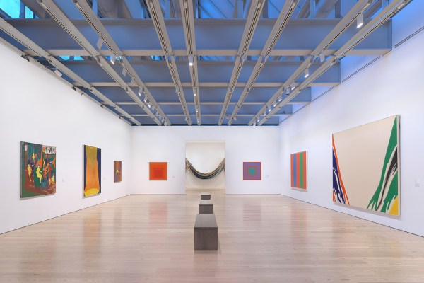Spilling Over Painting Color In 1960s Whitney