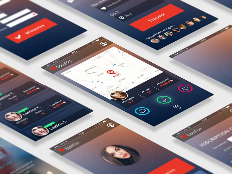Application mobile EdenFlirt