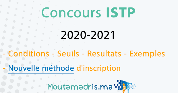 Concours ISTP 2020-2021
