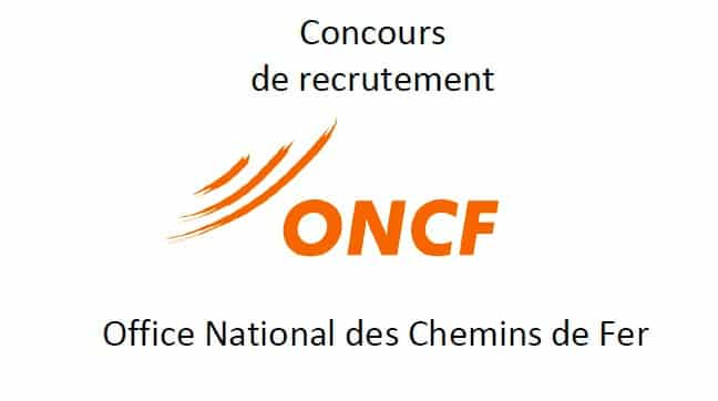 Concours ONCF 2019 Maroc