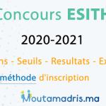 Concours ESITH 2020-2021 Casablanca