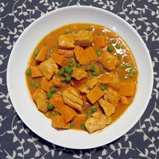 Salmon Sweet Potato Curry