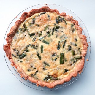 Asparagus Potato Quiche