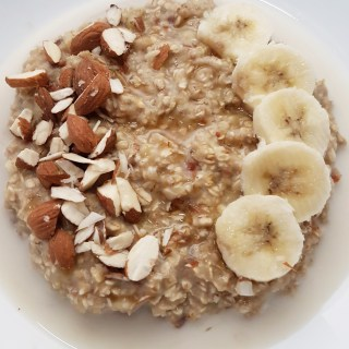 Quick Banana Oatmeal Two Ways
