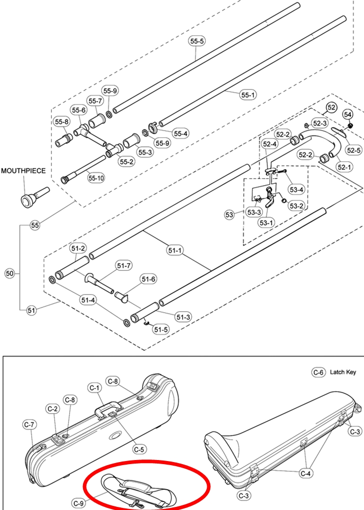 Trombone Cases & Parts : Mouthpiece Express