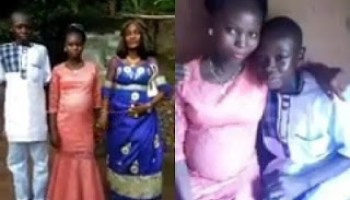 14 Year-old Boy Forced To marry His Older Girlfriend He Impregnated