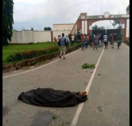 BREAKING: Youths on rampage in Osogbo (Video)