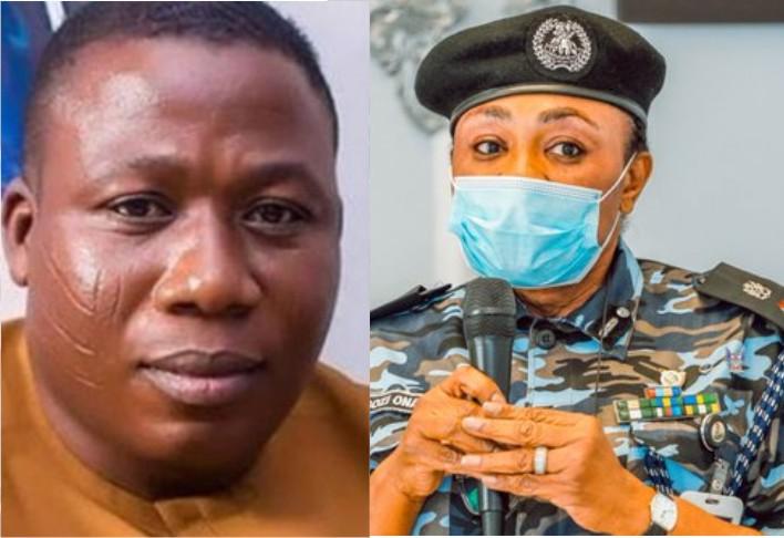 BREAKING: Police reveal those behind burning of Sunday Igboho's house