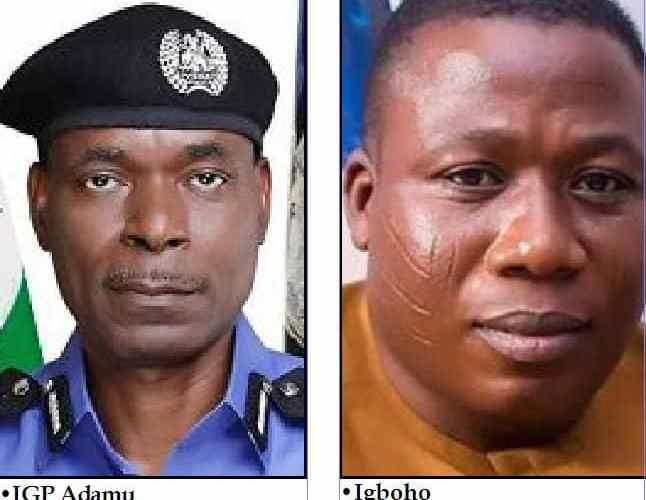 IGP under fire over Sunday Igboho arrest order