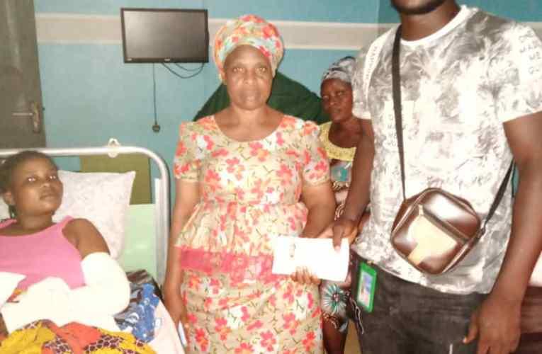 Abdul Afusat felicitates senator Mikhail Tokunbo Abiru at 57, thank him for paying her hospital bills