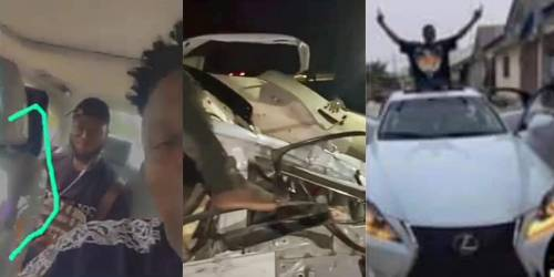 Six yahoo boys die in auto crash during celebration