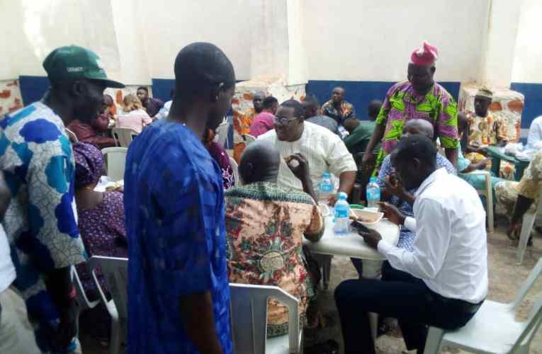 PHOTOS: Ogbomoso PDP leaders, members grace John Oke's Easter celebration