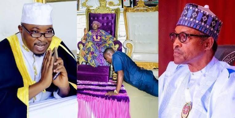 """Forgive Igboho, I'll bring him for peace talk"", Oluwo writes Buhari"