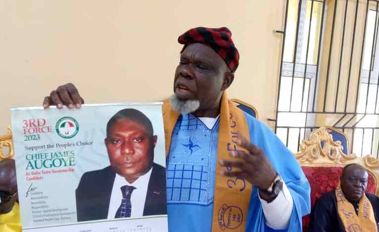 2023: Support Delta Central to produce next Governor— 3rd force organization tells Isoko Nation