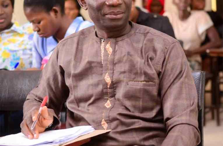 Mouthpiece NGR Publisher felicitates with LAUTECH don, Professor Akanbi on birthday