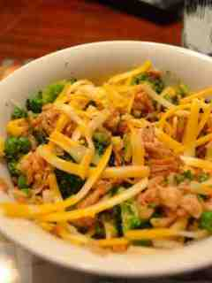 Cheesy Rice Bowl -A Quick & Healthy Dinner!