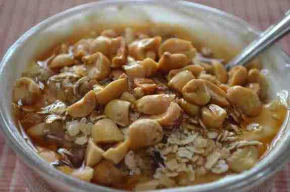Sweet and Salty Greek Yogurt