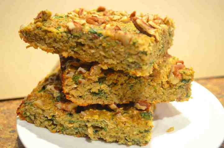 Green Monster Breakfast Bars