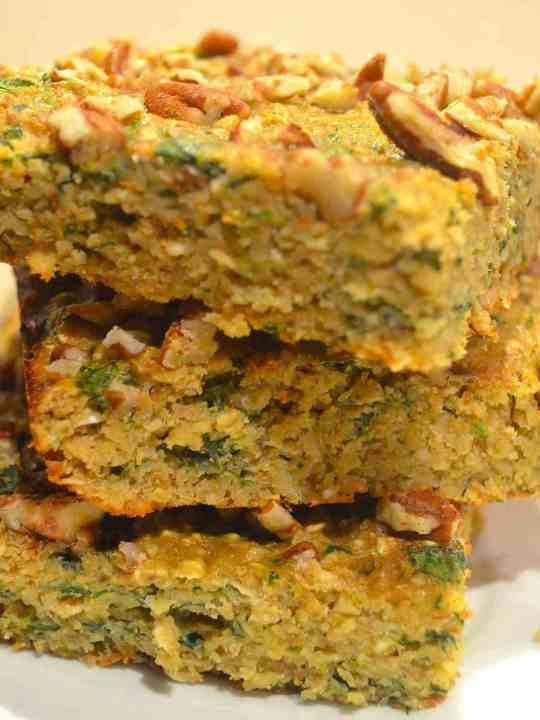 Green Monster Breakfast Bars