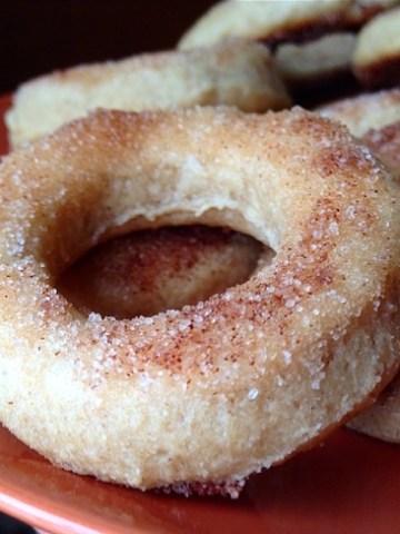 Mini Cinnamon Sugar Protein Donuts