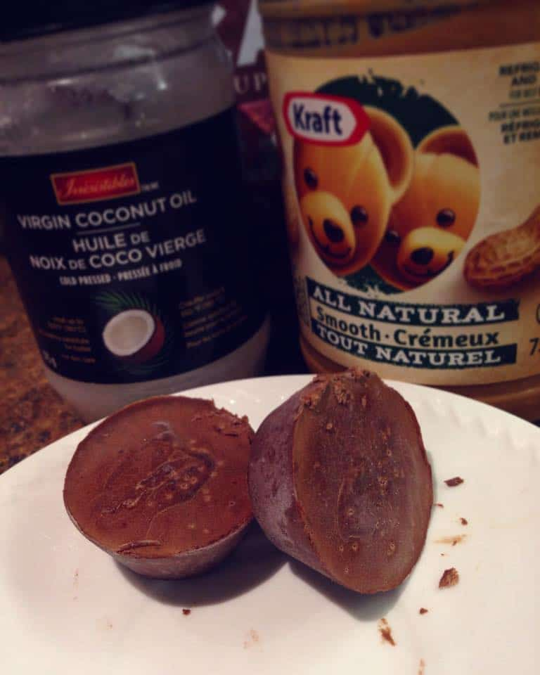 Chocolate Peanut Butter Fat Bombs Mouthwatering Motivation
