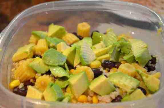 AH-mazing Quinoa-Chicken-Avocado Salad