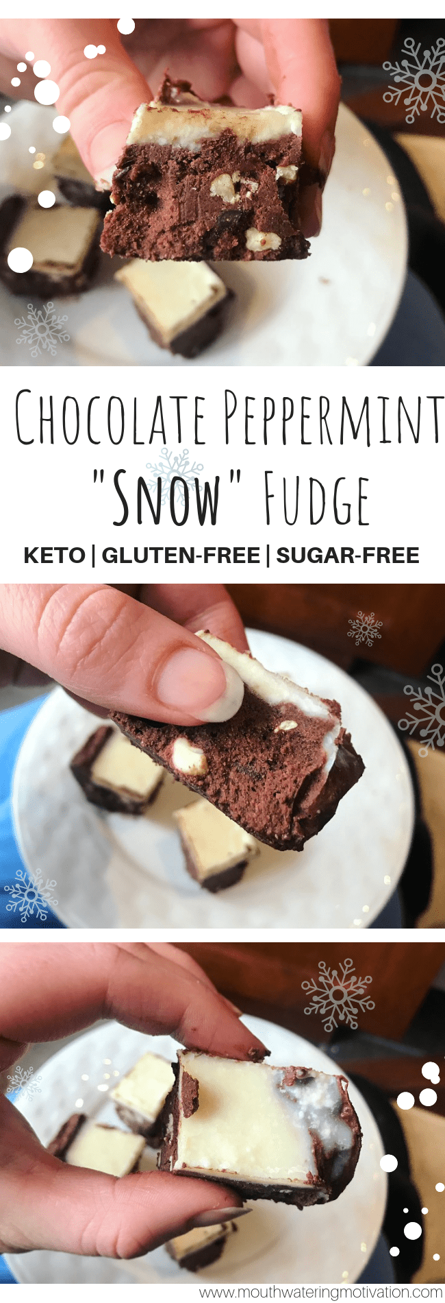 keto peppermint fudge