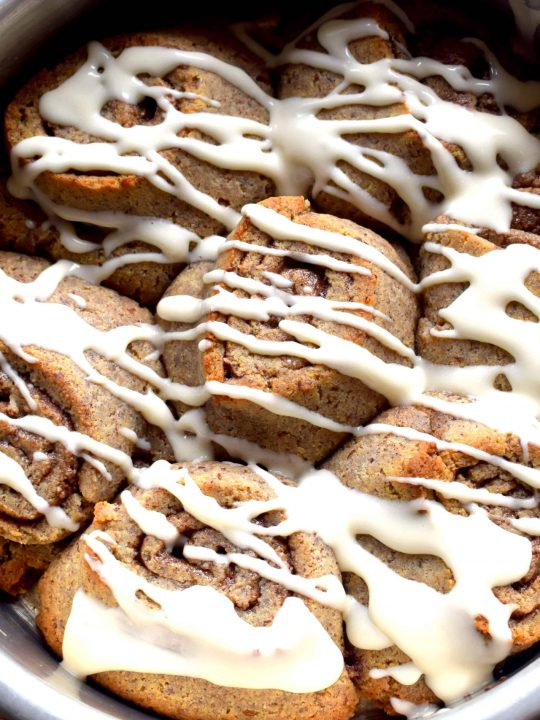 Soft and Gooey Keto Cinnamon Rolls