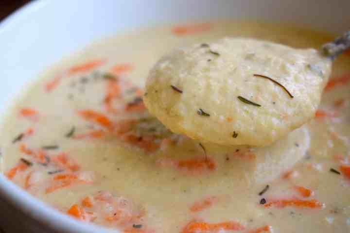 low carb cauliflower soup