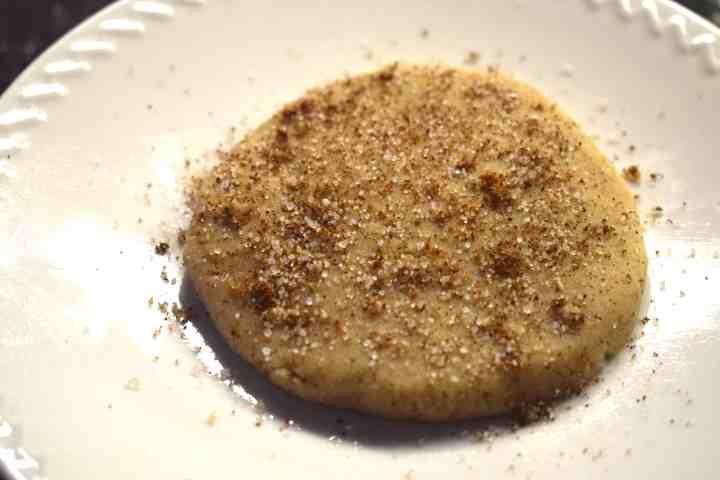 keto snickerdoodle cookie