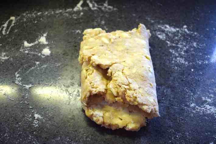 rough keto dough